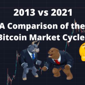 2013 vs 2021 – A comparison of the Bitcoin Market Cycles