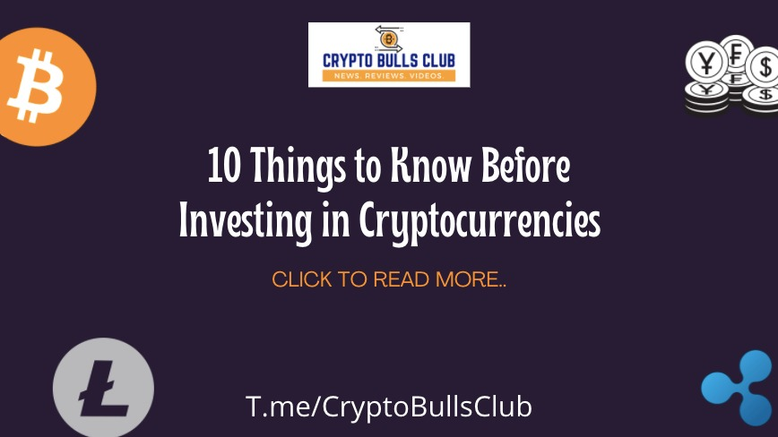know before investing in cryptocurrency