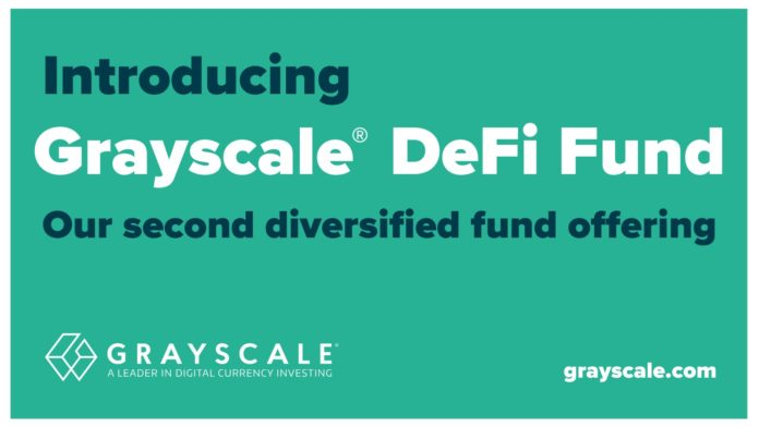 Grayscale is launching an institutional-grade DeFi fund and index