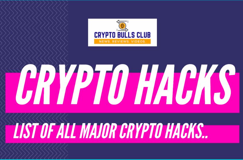 Crypto Hacks Timeline: List of All Cryptocurrency Hacks