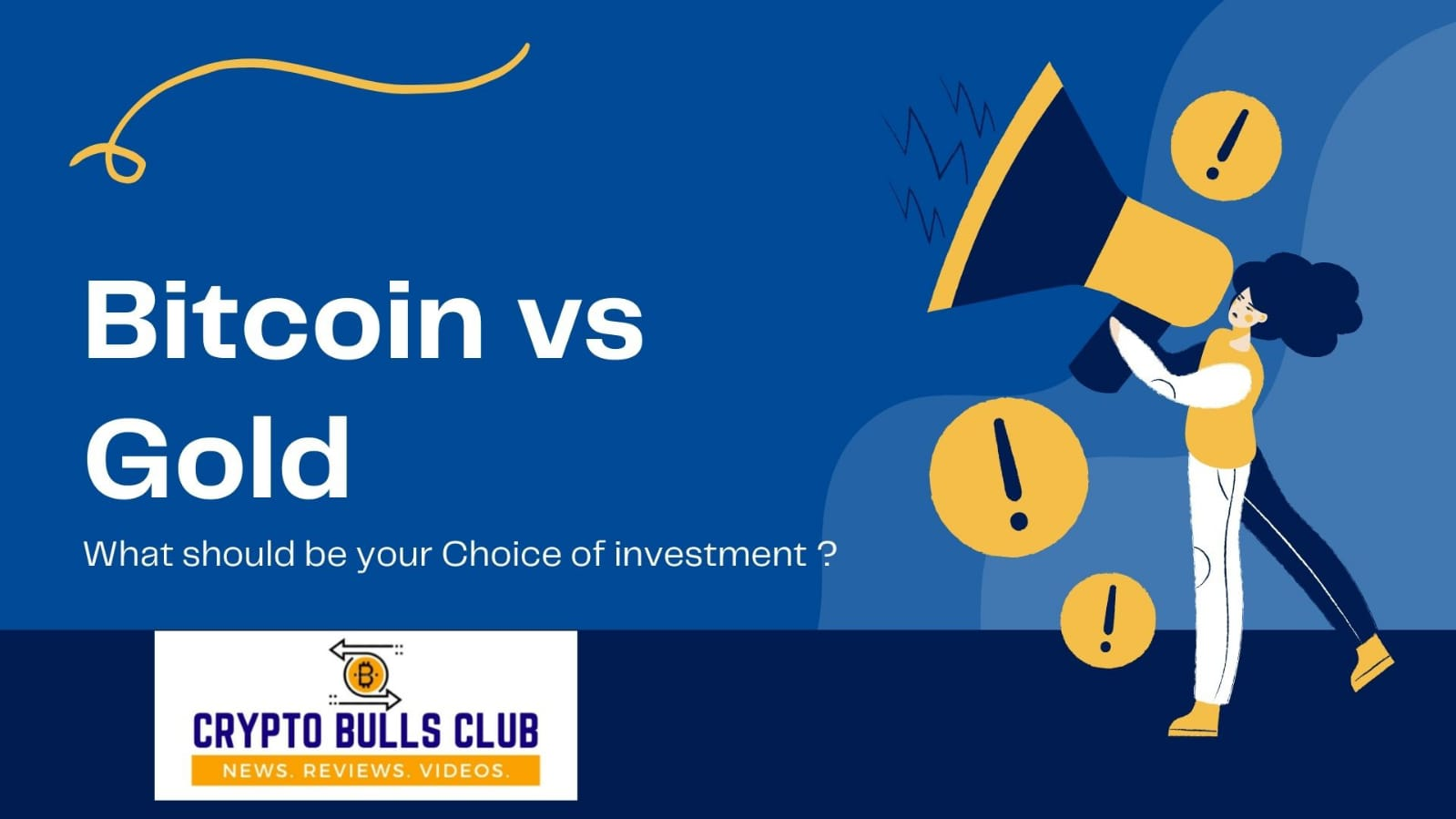 BTC or GOLD: Which should be your choice of investment?